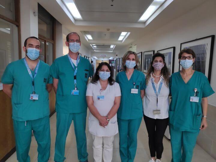 צוות המרכז לאנדומטריוזיס צילום: הדסה