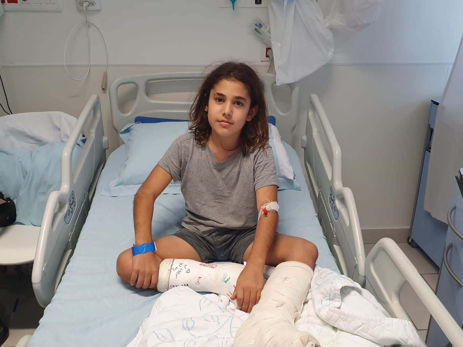 איתי לאחר הניתוח צילום: אסותא אשדוד