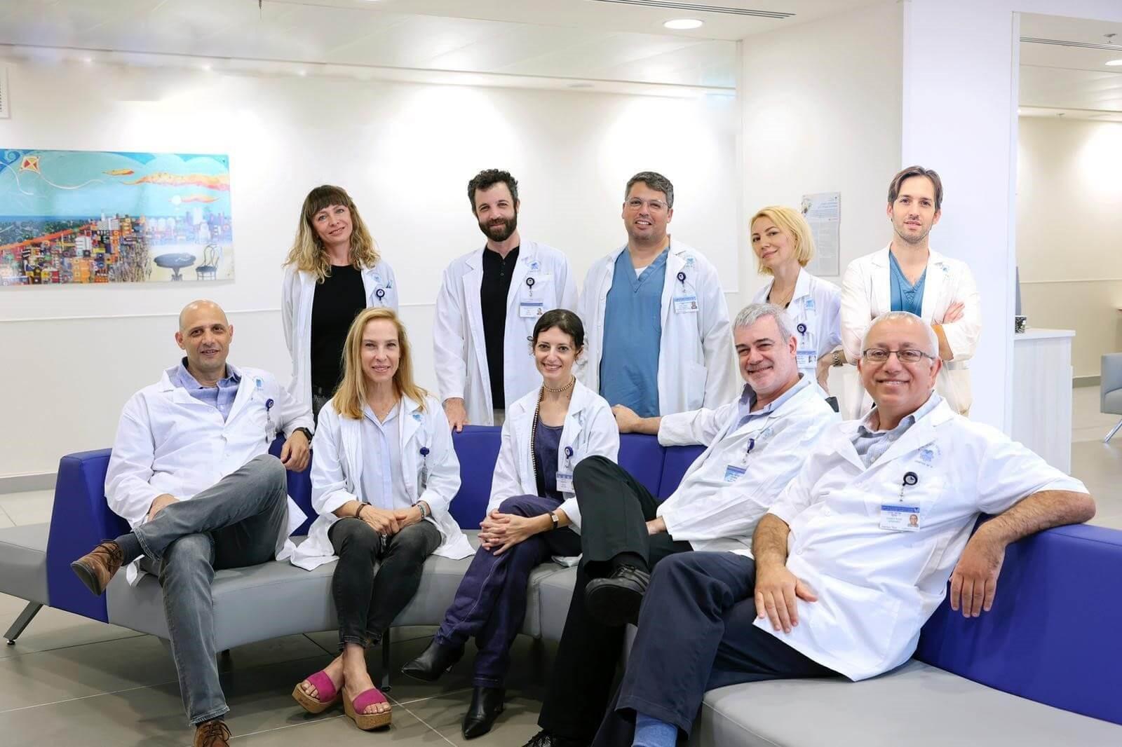 צוות רפואי רב תחומי צילום: ג'ני ירושלמי